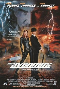 The Avengers (1998) / 12 Awful '90s Movies Based On TV Shows