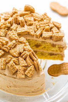 Nutter Butter Peanut Butter Layer Cake