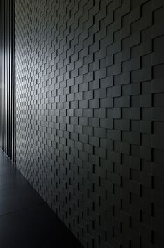 Accent wall – the last trend in modern wall design – Fresh ideas for the interior, decoration and landscape - Textures Murales, Showroom Design, Wall Finishes, Wall Cladding, Deco Design, Design Design, House Design, Interior Walls, Interior Design