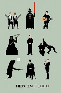 Men in Black 8 bit