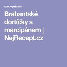 Brabantské dortíčky s marcipánem | NejRecept.cz