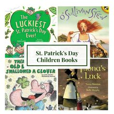 Our Favorite St. Patrick's Day Books! Check out our blog to see our favorite picks!