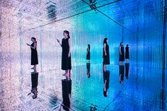 teamlab stages its largest immersive digital art exhibition in tokyo is part of Planets art - teamlab stages its largest immersive digital art exhibition in tokyo Digitalart Installation Vitrine Design, Tokyo, Tech Art, Exhibition Space, Light Installation, Art Installations, Light Art, Japanese Art, Art Photography