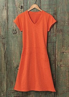 Women's Parlez-Vous French Terry #Dress from Sahalie on Catalog Spree, my personal digital mall.