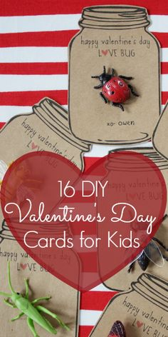 16 DIY Valentine's Day Cards for Kids