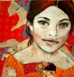 mixed media on canvas- Leo-Vinh-20x20 cm