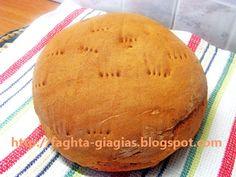 Ψωμί Χωριάτικο Προζυμένιο (βασική συνταγή) - από «Τα φαγητά της γιαγιάς»