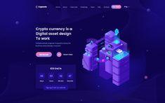 Cryptonio - Cryptocurrency HTML Template