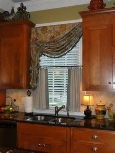 Tuscan Window Treatment For Kitchen Searchya Search Results Yahoo Image