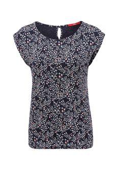 O-Shape-Shirt aus Viskose von s.Oliver. Entdecken Sie jetzt topaktuelle Mode für…