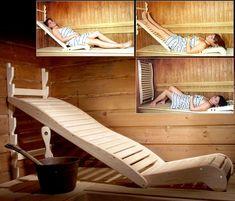 Smart og anvendelig - ekstra comfort i din sauna. Se mere sauna tilbehør her www. Diy Sauna, Sauna Steam Room, Sauna Room, Saunas, Sauna Benefits, Health Benefits, Health Tips, Basement Flooring Options, Basement Ideas