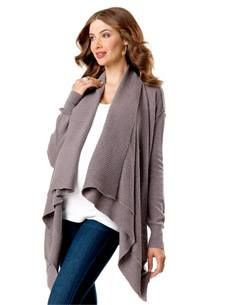 Splendid - LONG SLEEVE - CASCADE - ACRYLIC BLEND - POINTELLE - MATERNITY CARDIGAN - DRY CLEAN ONLY - IMPORTED  www.mlleshopping.com visiter www.mlleshopping.com Destination Maternity Corporation