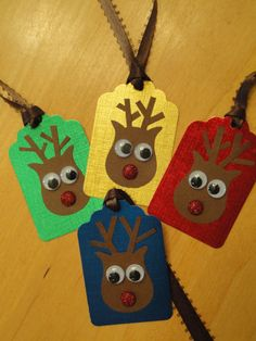 This would be a fun christmas craft to make with Gavin.  Adorable and useful!