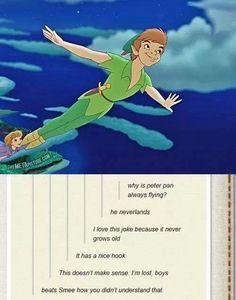 Peter Pan puns^.^