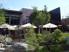 Stone Brewery & Beer Gardens in Escondido, CA.   My favorite restaurant ever!!