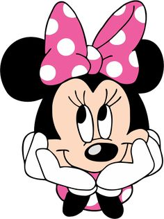 minnie mouse Turma do Mickey - Minnie Rosa Rosto 2 Mickey Minnie Mouse, Minnie Mouse Template, Minnie Mouse Drawing, Minnie Mouse Stickers, Mickey Mouse Drawings, Mickey Mouse Clubhouse, Minnie Mouse Clipart, Bolo Minnie, Pink Minnie