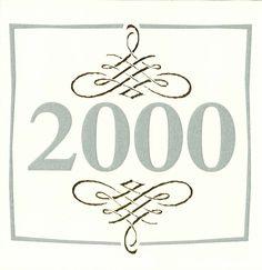 Cartes de voeux - modèle 2000 (papier texturé naturel avec gaufrage et dorure à chaud, impression grise) © COPY-TOP