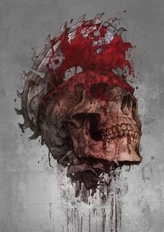 Bloody Disgusting by illustrator and graphic designer Grzegorz Domaradzki http://www.iamgabz.com/