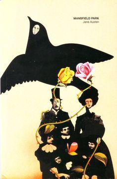 jane austen mansfield park black bird cover book - Google Search