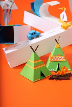 Triangle Town by ji hee lee, via Behance