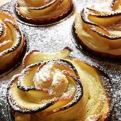 Jablkové kvety s marcipánom - recept Cheesecake, Food, Basket, Cheesecakes, Essen, Meals, Yemek, Cherry Cheesecake Shooters, Eten