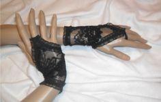 rękawiczki koronkowe wieczorowe