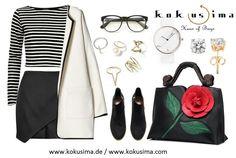 Tuesday glam with @kokusimahausofbags ❤ wwww.kokusima.de / www.kokusima.com ⭐Follow us on Facebook, Instagram, Pinterest, Twitter & Google+ ⭐ #kokusimahausofbags #keepitgroovy #style #trend #luxury #lifestyle #lifestyleblogger #cool #fashion #mode #fashionblogger #kölnbloggt #model #bag #tasche #handbag #handtasche #hot #shoulderbag #umhängetasche #backpack #beauty #rucksack #clutch #party #sexy #germany #design #love #streetstyle (Schwarze Tasche für Frauen by Kokusima Haus of Bags)