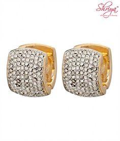 Shriya Cute Huggies with Austrian Diamonds