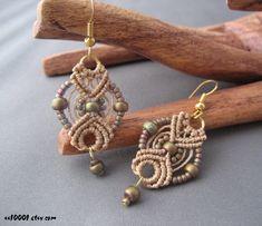 Micro Macrame Earring Patterns | handcrafted macrame earrings