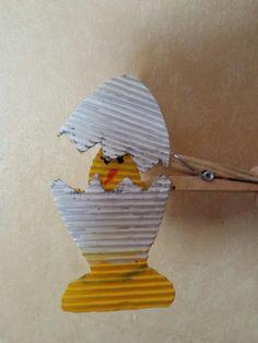 صوص مع بيضة... egg kids craft