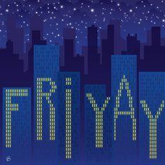 Happy Fri-YAY! --- #design #lettering #typography