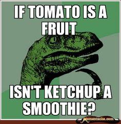 if tomato is a fruit - Memestache