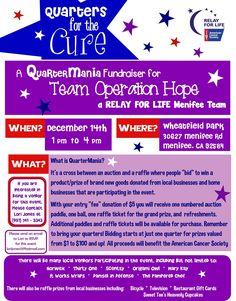 f7b2b7617ecc0f Menifee Relay For Life Team Fundraiser Tomorrow