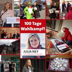 100 Tage Wahlkampf