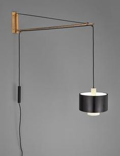 View Adjustable wall light by Gaetano Scolari sold at Design on London Auction 20 September Learn more about the piece and artist, and its final selling price Interior Lighting, Wall Sconces, Light Up, Wall Lights, Auction, Steel, Interior Design, Jackson 5, App Store