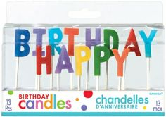 Shop For Themed Birthday Candles Including Happy Numbered Cake And