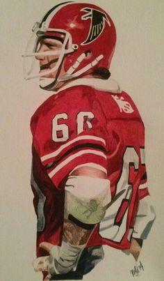 Atlanta Falcons: Tommy Nobis, by Josh Boyle