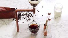 Turn Cement & Copper into a Coffee Maker