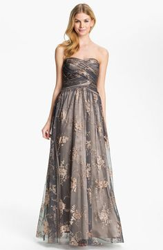 Hailey by Adrianna Papell Strapless...    $178.00