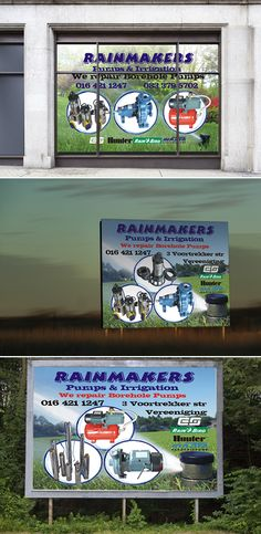 Window stickers and Billboard design and installations. Billboard Design, Freelance Graphic Design, Window Stickers, Packaging Design, Signage, My Design, Cool Designs, Printing, Stitch