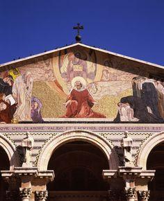 Church Of All Nations, Garden Of Gethsemane, Jerusalem, Israel
