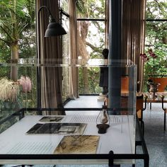 Lina Bo Bardi's Archive on Display at her Glass House in São Paulo,© Renato Anelli