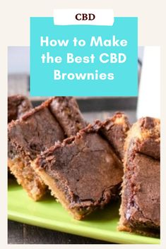 While CBD oil is popular for its many supposed benefits, it is not necessarily known as being a tasty ingredient. The strong, pungent earthiness of the oil can be a bit overwhelming on its own – but, that doesn't mean it isn't wonderful to cook with! In fact, when treated properly CBD oil can add a delicious, slightly herbaceous flavor to a number of classic brownie recipes. Or, you can even include specialty CBD products that have no distinct flavor at all. Easy Baking Recipes, Brownie Recipes, Candy Recipes, Fruit Recipes, Cheesecake Recipes, Snack Recipes, Dessert Recipes, Homemade Peanut Butter Cups, Peanut Butter Desserts