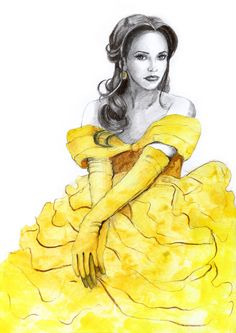 Belle by *MartaDeWinter on deviantART