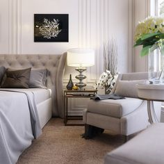 Contemproary bedroom