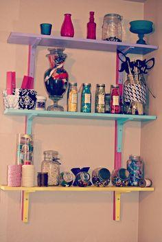 diy room decor | DIY Office & Craft Room Decor: Spray Painting Something Different ...