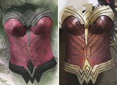 female christmas costumes A Real Wonder Woman Spent 50 Hours Making This Costume From A Cheap Yoga Mat And Duct Tape, And The Result Will Amaze You : Wonder Woman Outfit, Wonder Woman Cosplay, Dc Cosplay, Marvel Cosplay, Cosplay Ideas, Costume Ideas, Christmas Costumes, Halloween Costumes, Female Superhero