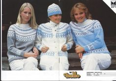 Dale 2371 Love Blue, Blue And White, Norwegian Knitting, Knitted Shawls, Mittens, Knitting Patterns, Jumper, Knit Crochet, Graphic Sweatshirt