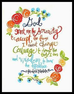 I have wanted to create the serenity prayer for about two years   when I got a request from a customer for it,  so I finally created it.  ...