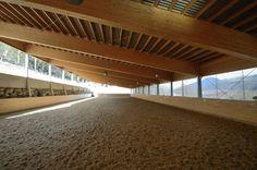Reitarena Stubei: Horse Riding Arena in Austria: Reitarena Stubei - Indoor Riding Arena – Meowa